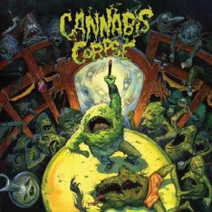Cannabis Corpse - The Weeding cover art