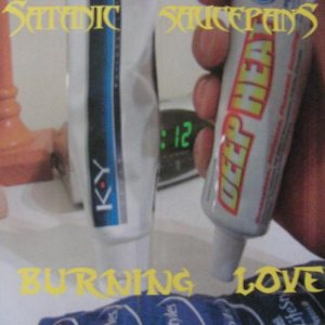 Satanic Saucepans - Burning Love cover art
