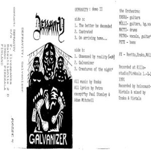 Depravity - Galvanizer cover art