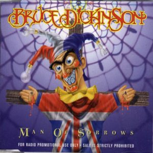 Bruce Dickinson - Man of Sorrows cover art