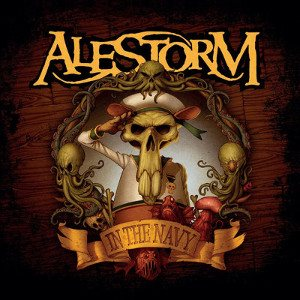 Alestorm - In the Navy cover art