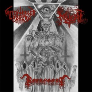 Waffenträger Luzifers / Necrogoat / Muert - Satanic Brotherhood cover art