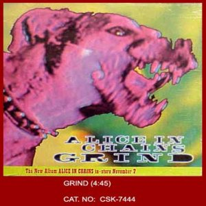 Alice In Chains - Grind cover art