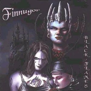Finnugor - Black Flames cover art