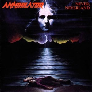 Annihilator - Never Neverland cover art