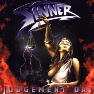 Sinner - Judgement Day cover art