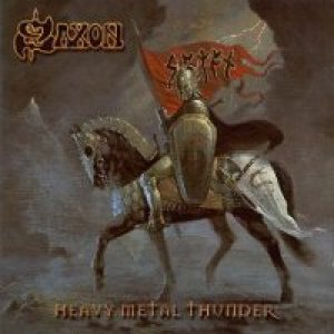 Saxon - Heavy Metal Thunder cover art