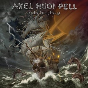 Axel Rudi Pell - Into the Storm cover art