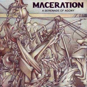 Maceration - A Serenade of Agony cover art