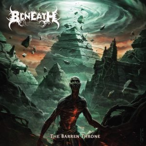 Beneath - The Barren Throne cover art