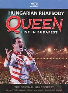 Queen - Hungarian Rhapsody: Queen Live in Budapest '86 cover art