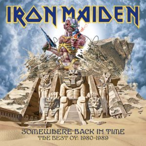 Iron Maiden - Somewhere Back in Time cover art