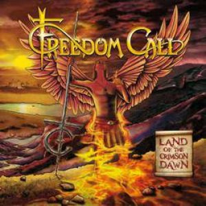 Freedom Call - Land of the Crimson Dawn cover art