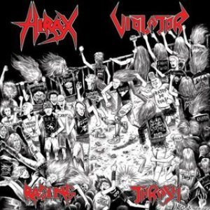 Hirax / Violator - Raging Thrash cover art