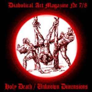 Holy Death - Holy Death / Unknown Dimensions cover art