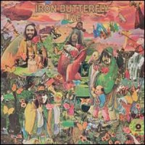 Iron Butterfly - Live cover art