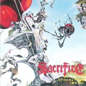 Sacrifice - Apocalypse Inside cover art