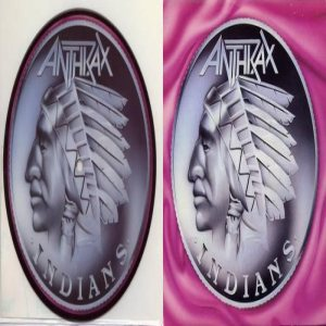 Anthrax - Indians cover art