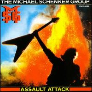 Michael Schenker Group - Assault Attack cover art