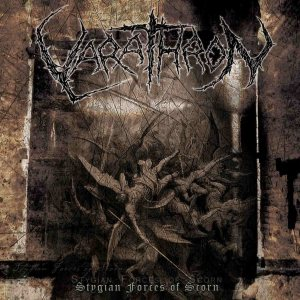Varathron - Stygian Forces of Scorn cover art