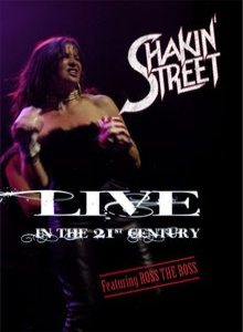 Shakin' Street - Live in the 21st Century cover art