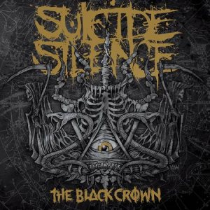 Suicide Silence - The Black Crown cover art