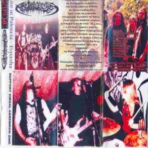 Antidemon - Live in Palencia - Spain cover art