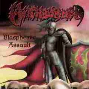 Witchburner - Blasphemic Assault cover art