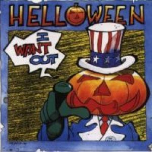 Helloween - I Want Out cover art