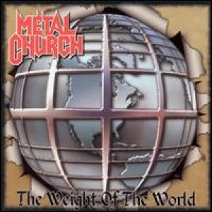 Metal Church - The Weight of the World cover art