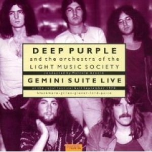 Deep Purple - Gemini Suite Live cover art