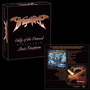 Dragonforce - Valley of the Damned / Sonic Firestorm cover art