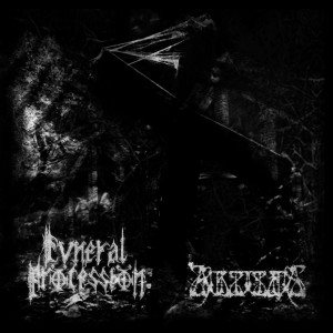 Funeral Procession - Of Decay and Decadence/Zukunftsspruch cover art