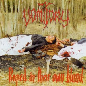 Vomitory - Raped in Their Own Blood cover art