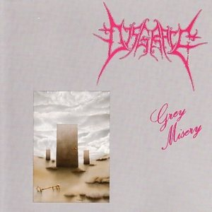 Disgrace - Grey Misery cover art