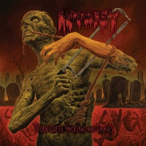 Autopsy - Tourniquets, Hacksaws and Graves cover art