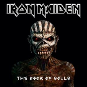 Iron Maiden - The Book of Souls cover art