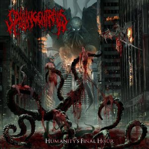 Spilling Entrails - Humanity's Final Hour cover art