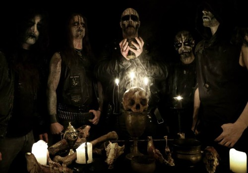 Enthroned photo