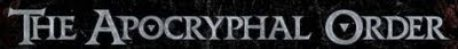 The Apocryphal Order logo