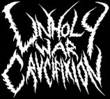 Unholy War Crucifixion logo