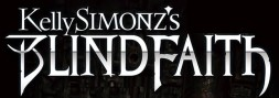 Kelly Simonz's Blind Faith logo
