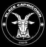 Black Capricorn logo