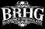 Bloodred Hourglass logo