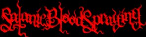 Satanic Bloodspraying logo