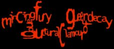 Mincing Fury and Guttural Clamour of Queer Decay logo