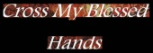 Cross My Blessed Hands logo