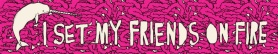 I Set My Friends on Fire logo