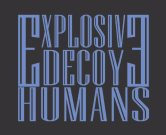 Explosive Decoy Humans logo