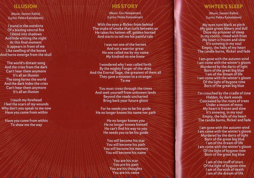 Lyric frozen songs lyrics : Amorphis Photos - Metal Kingdom